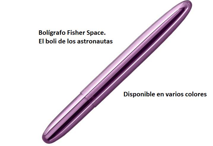 Bolígrafo Fisher Space, astronautas