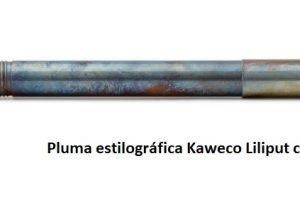 Pluma estilográfica Kaweco Liliput. Pequeñita pero matona