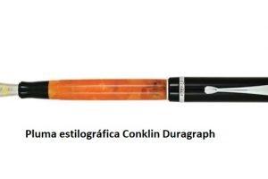 Pluma estilográfica Conklin Duragraph 'Orange Nights'