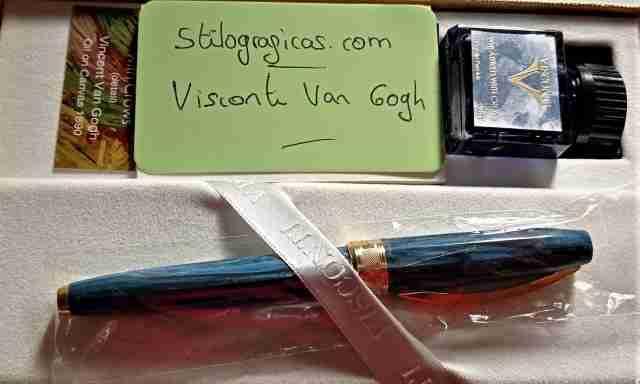 Pluma estilográfica Visconti edición Van Gogh