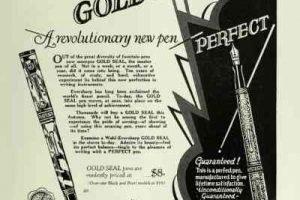 La pluma estilográfica, antes y después de la Segunda Guerra Mundial