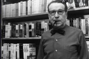 Escrito con estilográfica: El hombre desnudo (Georges Simenon)