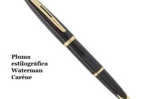 Pluma estilográfica carenada Waterman Carène